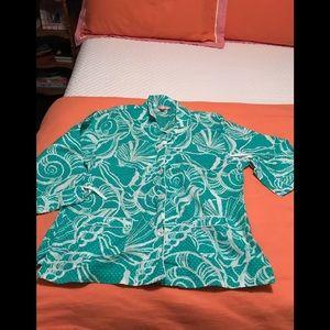 Lily Pulitzer pajama set